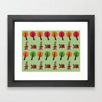 Watership Down Rabbits, … Framed Art Print