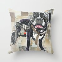 Harold The Mighty Throw Pillow
