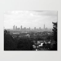 The Big Smoke.  Canvas Print