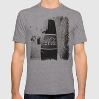 Coca-Cola closer Mens Fitted Tee Athletic Grey SMALL