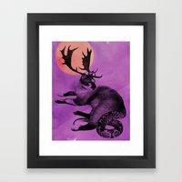 Catelope! Framed Art Print