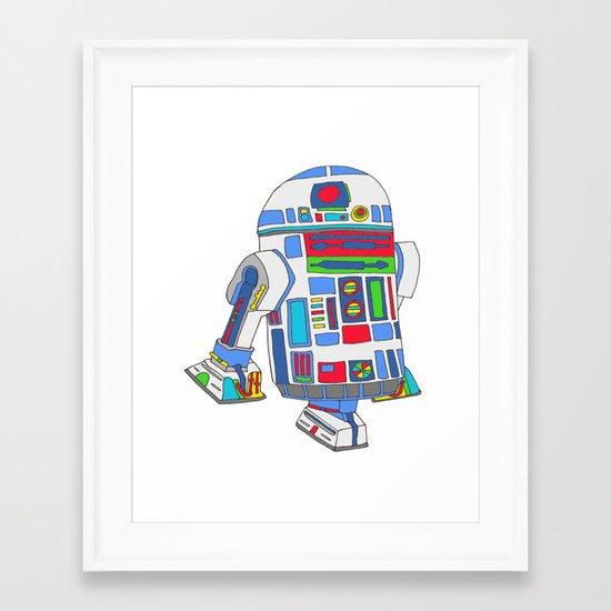 cool boys like epic droids Framed Art Print