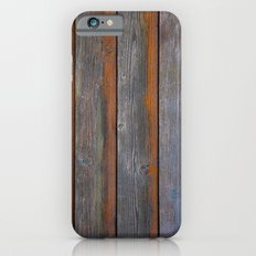 Rustic Wood Panel Boards… iPhone 6 Slim Case