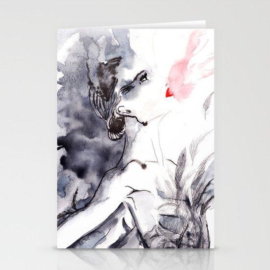 Black Swan Stationery Card