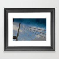 Georgia/South Carolina B… Framed Art Print