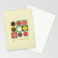 The Evolution of the Ball Stationery Cards