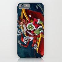 Christmas Hijackers iPhone 6 Slim Case