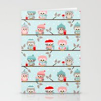 Winterowls Stationery Cards