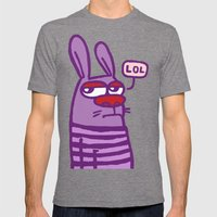 LOL #2 Mens Fitted Tee Tri-Grey SMALL