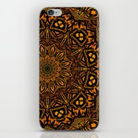Caution Zone Mandala iPhone & iPod Skin