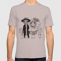 Day of the Dead Mens Fitted Tee Cinder SMALL
