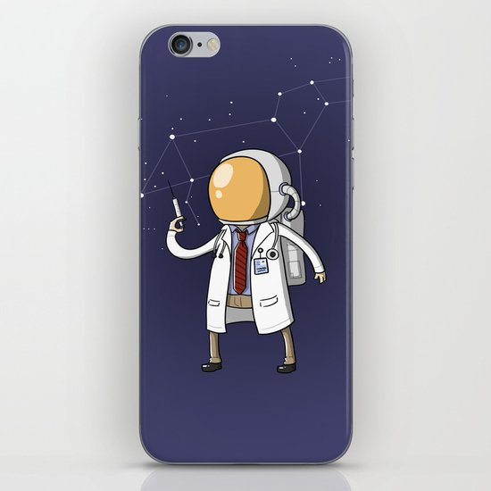 Dr. Spaceman iPhone & iPod Skin
