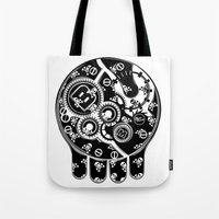 Time Bomb (Inverted) Tote Bag