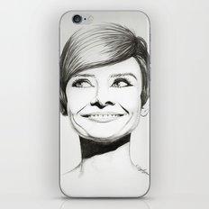 Women black & white iPhone & iPod Skin