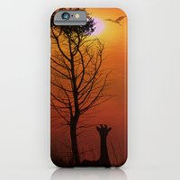 iPhone & iPod Case featuring Sunset on the Plaines by TaLins