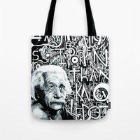Einstein.  Tote Bag