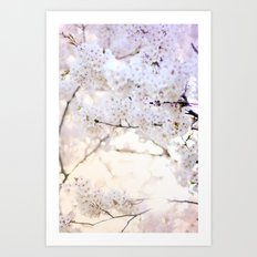 Water-colour Spring #3 Art Print
