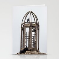 The Birds In The Belfry Stationery Cards