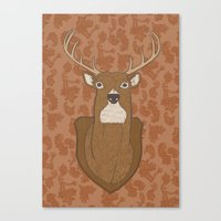 Regal Stag Canvas Print
