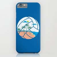 Beach Volleyball iPhone 6 Slim Case
