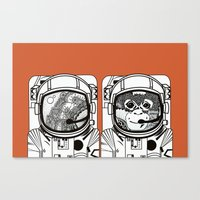 Searching for human empathy Canvas Print