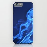 iPhone & iPod Case featuring smoky blue by Sofia Mansilla