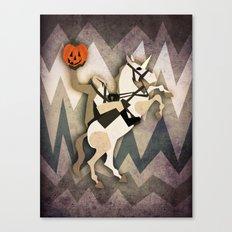 Headless Unicornman Canvas Print
