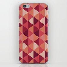 Red Mosaic  iPhone & iPod Skin