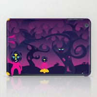 Night of the forest spirit iPad Case