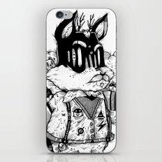 Watch & Learn Dear Creatures (Black & White Version) iPhone & iPod Skin