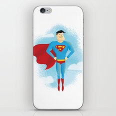 Look! Up in the sky! iPhone & iPod Skin