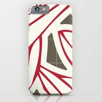 iPhone & iPod Case featuring Cut Out by Ted and Rose Design