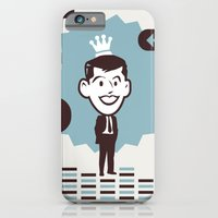 iPhone & iPod Case featuring Businessman by iamtanya