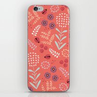 Little Ladybugs iPhone & iPod Skin