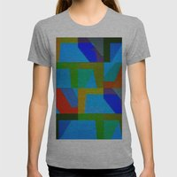 Colorful Truth. Sky Womens Fitted Tee Athletic Grey SMALL