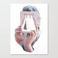 The Tiny Angel Canvas Print