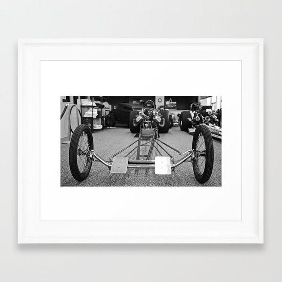 Dragster Framed Art Print