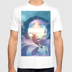 Orca Mens Fitted Tee White SMALL