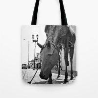Urban Horse Tote Bag
