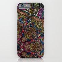 Psychedelic Botanical 9 iPhone 6 Slim Case