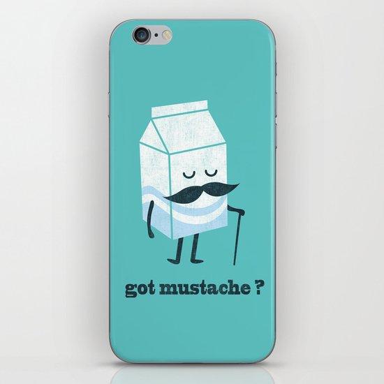 Got mustache? iPhone & iPod Skin