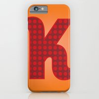 Alphabet K iPhone 6 Slim Case