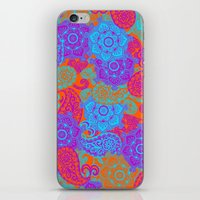 vibrant paisley iPhone & iPod Skin