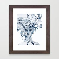 I am the sea and nobody owns me Framed Art Print