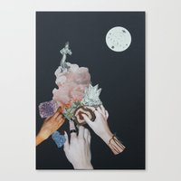 3 Fairy Godmothers Canvas Print