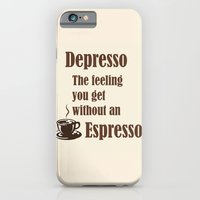 iPhone Cases featuring Espresso by Deborah Janke
