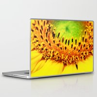 sunflower Laptop & iPad Skins featuring Sunflower by Falko Follert Art-FF77