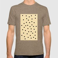 Chocolate Chip Mens Fitted Tee Tri-Coffee SMALL