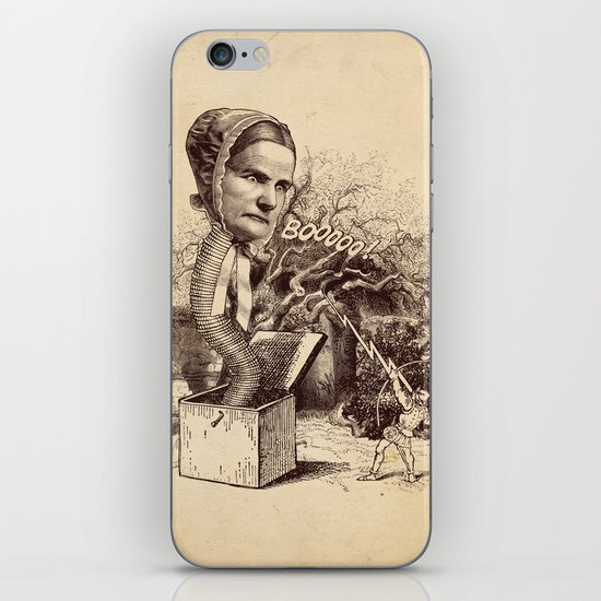 The Striking of the Lasia Monster iPhone & iPod Skin