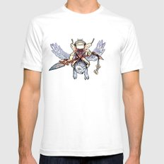 Snow Troll Mens Fitted Tee SMALL White